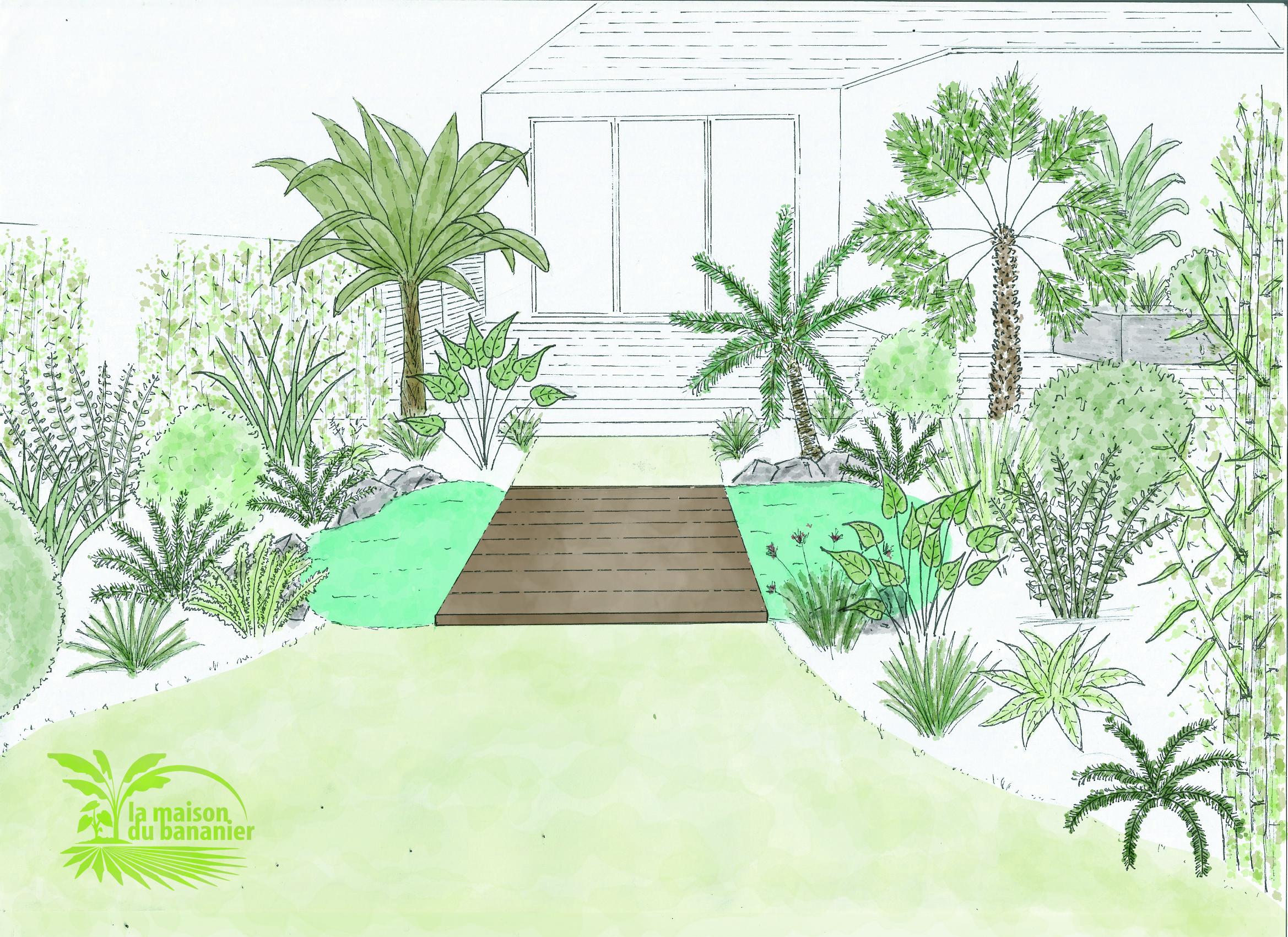 Creation De Jardins Pepiniere Ecologique La Maison Du Bananier